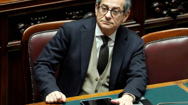 Italian economy minister expects growth to pick up in H2 - TV interview