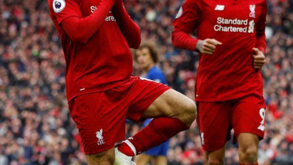 قذيفة صلاح تهدي ليفربول الفوز على تشيلسي وقمة الدوري الإنجليزي