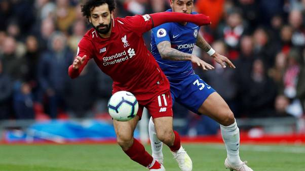 Salah screamer gives Liverpool vital win against Chelsea