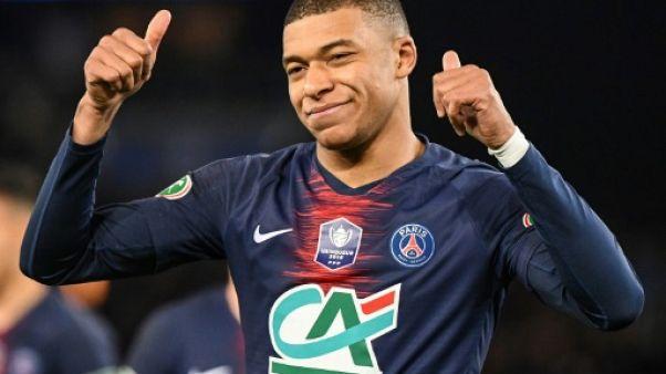 Lille-Paris SG: Mbappé titulaire, Choupo-Moting sur le banc