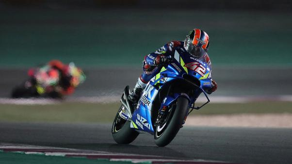 Motorcycling - Rins takes first win in Texas as Marquez crashes out