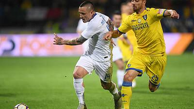 Inter boost Champions League hopes with win at Frosinone