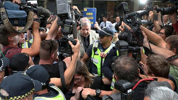 Australian media charges over Cardinal Pell trial 'chilling' for open justice - lawyer