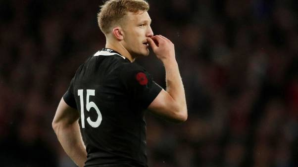 All Blacks' McKenzie to miss World Cup with ACL injury