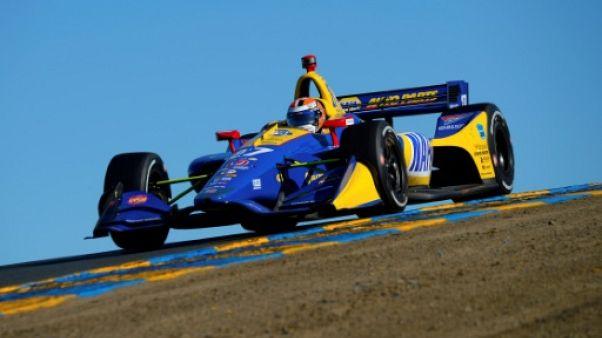 IndyCar: Rossi se promène dans les rues de Long Beach