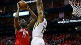 NBA: Houston et Milwaukee frappent fort d'entrée