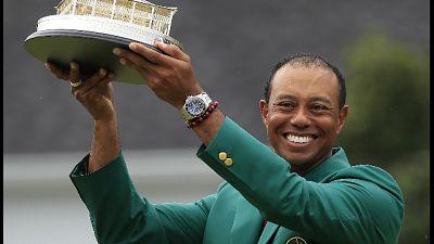 Golf, anche Obama celebra Tiger Woods