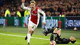 Ajax: De Jong ok per sfida contro Juve