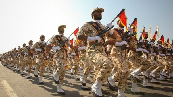 U.S. officially designates Iran's Revolutionary Guards a terrorist group