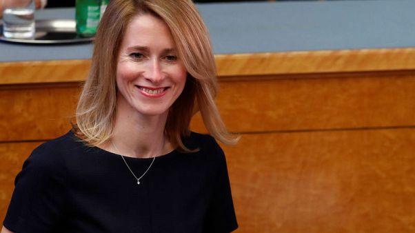 Estonian parliament rejects Reform's Kallas as PM in vote