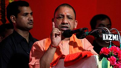 India bans firebrand Hindu from vote campaign for anti-Muslim comment