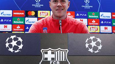 Barcelona will aim to dominate United says Ter Stegen
