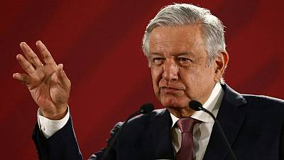 Mexican president says to return 'stolen' wealth to the people