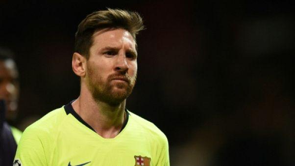 Barcelone-Manchester: Messi pour crever le plafond des quarts de C1