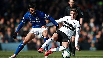 Everton's Gomes charged with violent conduct