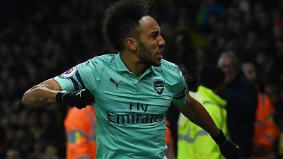 Premier: l'Arsenal vince 1-0 a Watford