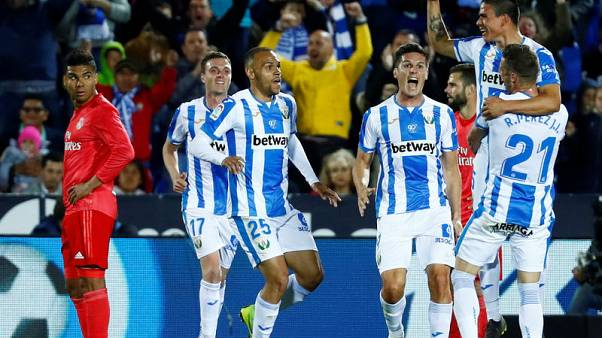 Madrid stumble again in disappointing draw at Leganes