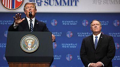 Trump, Pompeo brush aside Kim's deadline for nuclear talks flexibility