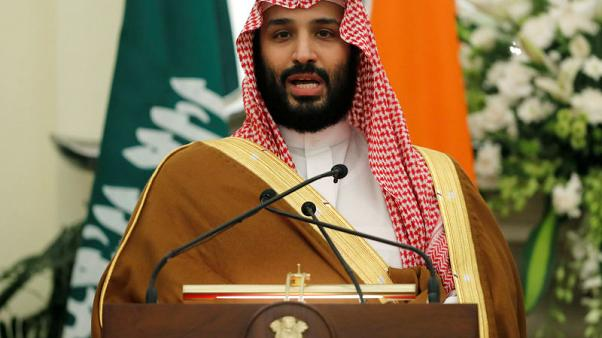 Saudi Crown Prince meets commander of U.S. Central Command - report