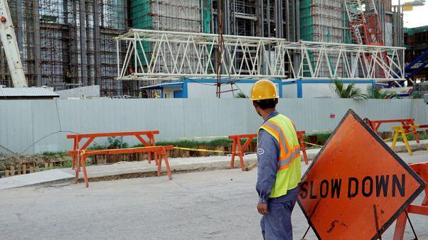 Typhoon rebuild on U.S. territory Saipan hampered by casino woes