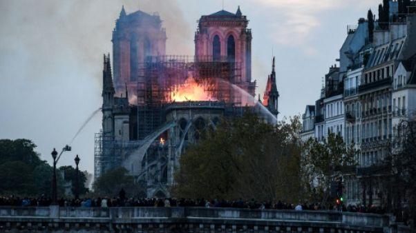 """Notre-Dame: le foot français va """"se mobiliser financièrement"""", promet la président de la LFP"""