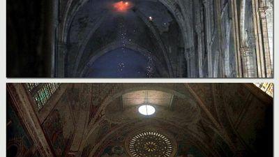 Ferita Notre Dame come Assisi per sisma