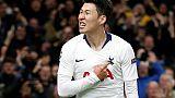 "C1: sans son ""talisman"" Kane, Tottenham passe à la vitesse du Son"