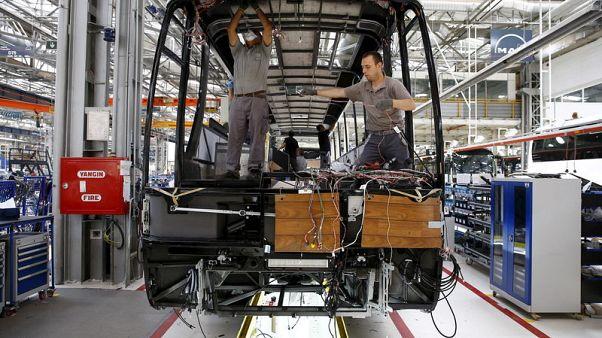 الناتج الصناعي التركي ينزل 5.1% في تراجع سادس على التوالي