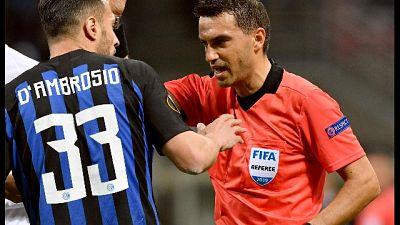 Rumeno Hategan arbitra Napoli-Arsenal