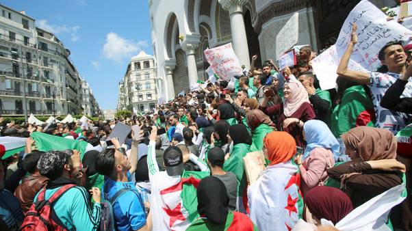 Algerian army chief says military is considering all options to end crisis