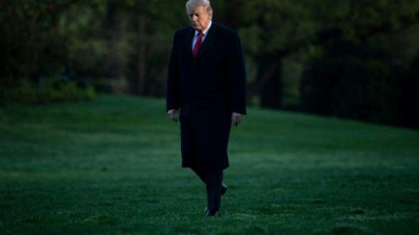 Donald Trump, le 15 avril 2019 à Washington