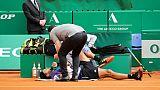 Masters 1000 de Monte-Carlo: Tsonga abandonne, épuisé par une maladie