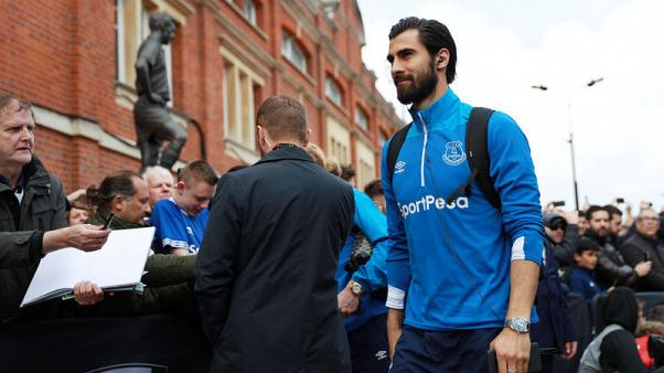 Everton's Gomes hit with three-match ban after accepting FA charge