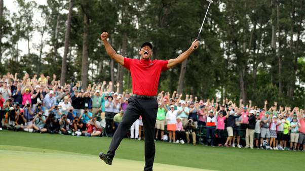 Tiger Woods delivers Masters ratings win for CBS, blunted by early start