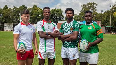 Captains Ready Rugby Africa Group U20 Barthés Cup in Harare
