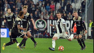 Champions: ko 2-1 con Ajax, Juve fuori
