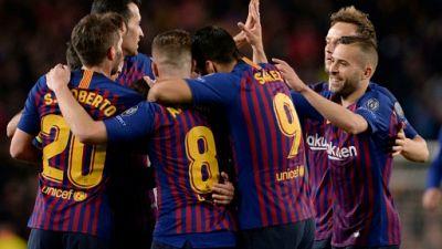 C1: Barcelone élimine Manchester United et se qualifie pour les demi-finales