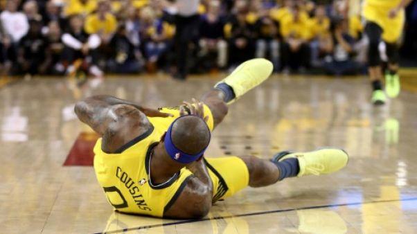 NBA: déchirure musculaire et fin de saison compromise pour DeMarcus Cousins