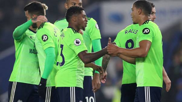 Cardiff win 2-0 at Brighton in key relegation duel