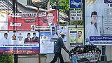 Election en Indonésie: un président issu du peuple face à un ex-général à poigne