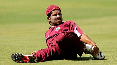 West Indies rope in Sarwan to work with batsmen ahead of World Cup