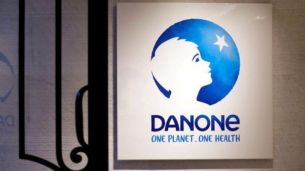 Food group Danone keeps goals despite weaker first-quarter sales