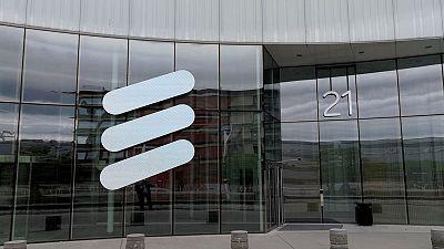 Ericsson first-quarter operating profit beats forecast