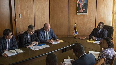 Verbatim des déclarations de la délégation conjointe AU-UN-EU suite à la réunion avec le Premier Ministre de la RCA