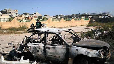 Barrages hit Tripoli as Haftar's two-week siege rages