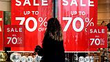 Euro zone headline, core inflation slowdown confirmed for March