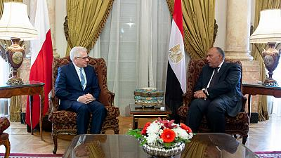Economic and security cooperation discussed in Cairo