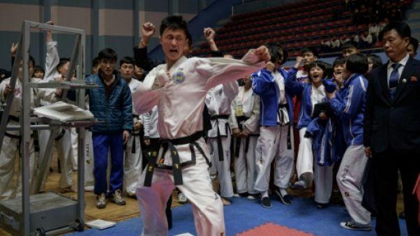 Massacre de planches au concours de taekwondo de Pyongyang