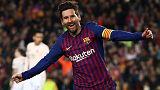 ميسي يحث برشلونة على مزيد من التركيز المبكر بعد بلوغ قبل نهائي دوري الأبطال