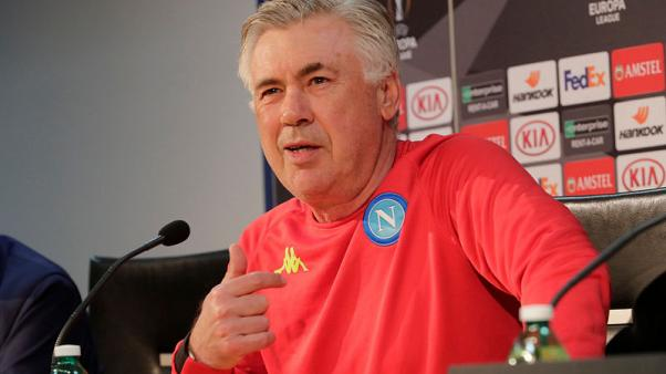 Ancelotti demands courage, intelligence and heart from Napoli